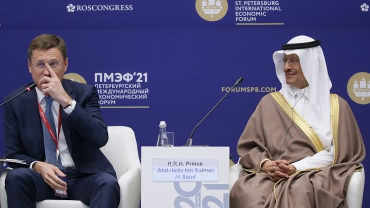 Россия и Саудовская Аравия отвергают призывы к прекращению расходов на нефть и газ и называют нулевой план МЭА «нереалистичным».