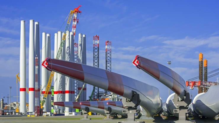Европе потребуются инвестиции 7,9 миллиарда долларов для поддержки шельфовой ветроэнергетики.
