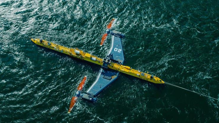 Самая мощная в мире приливная турбина готовится к работе.